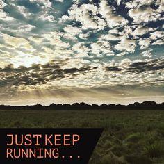 Morning jog.  Thankfully rain cooled morning a bit today.  Get good.  #ImSlow #running #sunrise