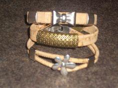 pulseiras de cortiça