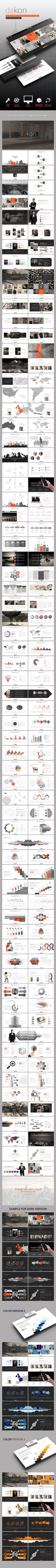 Dakon Powerpoint Template - Business PowerPoint Templates