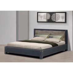 @Overstock.com - Heritage Queen Bed - This Heritage queen bed is rustic in feel and sturdy in construction with a vintage-looking finish. This wooden platform bed has slats for comfort so no box spring is required.   http://www.overstock.com/Home-Garden/Heritage-Queen-Bed/8187899/product.html?CID=214117 $436.49
