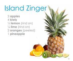 My Life Juicer: Island Zinger Juicing Recipe