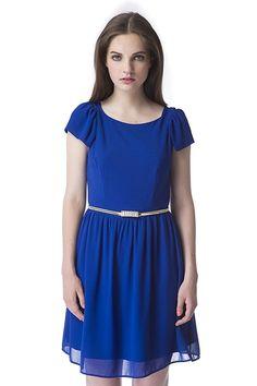 Vestido Como Blue
