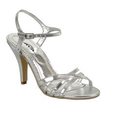 silver shoes for wedding mother | New Ladies Prom and Evening Shoes - All Styles just $30 a pair!