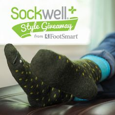 Enter our Sockwell Style Giveaway for the chance to win a dozen pairs of circulation-boosting socks from Sockwell in lively colors and patterns. #SockwellStyleGiveaway