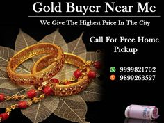 We provide you with the best cash for gold jewellery in Delhi, as we have been in this field of work of buying your old valuables for the right price for a long time now. Call us on 9999821722 for any query.