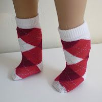 Doll clothes tutorials including doll socks from anklets.