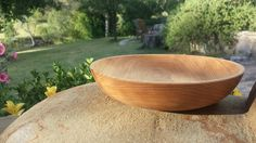 Turned bowl made from Juniper