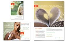 Christian Church Religious Flyer And Ad Design Template By StockLayouts