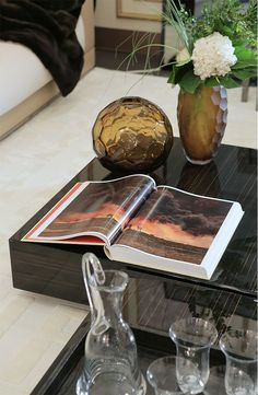 Fendi Casa at I Saloni Worldwide Moscow, Luxury Living Group Coffe Table Books, Decorative Accessories, Home Accessories, Desktop Decor, Brown House, Living Room Modern, Autumn Home, Inspired Homes, Luxury Living
