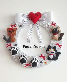 Guirlanda personalizada Gatinhos e Yorkshire