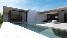 maison d'architectes contemporaine et moderne à Charbonnière les Bains
