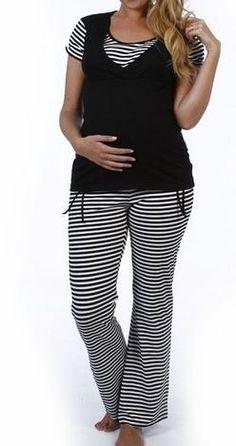 ** pijama maternal para lactancia, amamantar. marca que sera