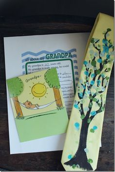 """Our grandpa would LOVE a tie that his grandkids """"designed"""" for Father's Day!"""