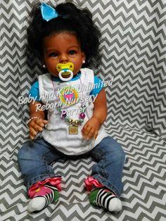 AA reborn toddler baby  Ethnic toddler by BabyandKidsUnlimited