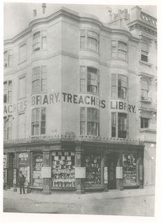 Brighton, Corner of east street north street 1890, East Sussex