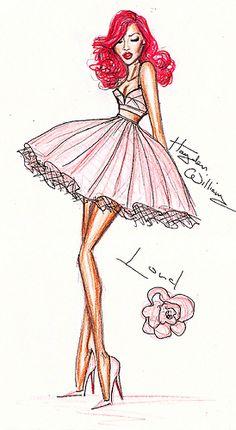 Rihanna 'LOUD' Fashion Illustration by Hayden Williams.   by Fashion_Luva