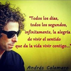 #Calamaro Rock Argentino, Pop Rock, Wise Words, Salmon, Mens Sunglasses, Feelings, Architecture, Quotes, Style
