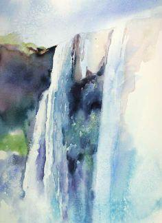 The Art of Julie Gilbert Pollard #watercolor jd