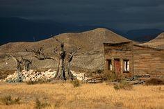 Western film location (Almeria Spain)