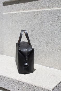 Pebbled Leather Case Carryall