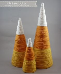 I am just itching to get a set of these! Can't get enough of my candy corn =D