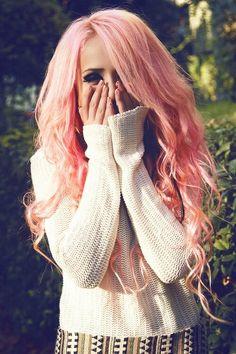 Precioso color rosa pastel.