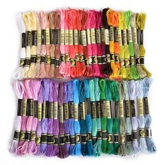 50 x Assorted Coloured Skeins...