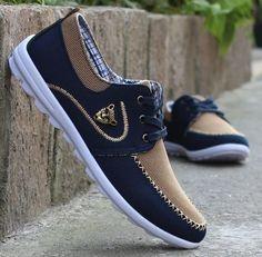 Shoes for Men Man Canvas