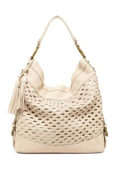 Isabella Fiore Vintage Weave Hobo//