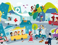 """Check out new work on my @Behance portfolio: """"Illustration for Lisciani"""" http://be.net/gallery/55559957/Illustration-for-Lisciani"""