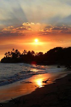 Hawaiian sunset for inspiration Landscape Paintings, Landscapes, Hawaiian Sunset, Sunset Pictures, Acrylic Art, Natural, Creative Art, Sunsets, Painting & Drawing