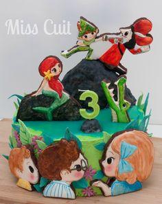 Biscuits de Peter Pan, basés sur les dessins de Lucie Brunellière