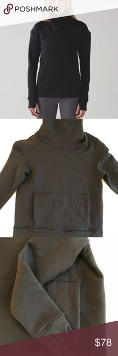 new product d5c44 1f86e Lululemon Kick The Cold Funnel Neck - NWT