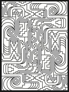 Image result for free coloring pages for adults difficult doodles