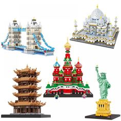 Famous Buildings, Promotion Code, Construction, Kit, Free Shipping, Country, Toys, Check, Famous Structures