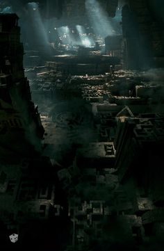 Perseus's groups assault on The Labyrinth, a towering maze which provides access to Tartarus wherein Zeus is imprisoned - Framestores Art Department