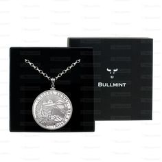 2013 Armenian Silver Noah's Ark 1oz Pendant- COIN EDGE in a Bullmint display box