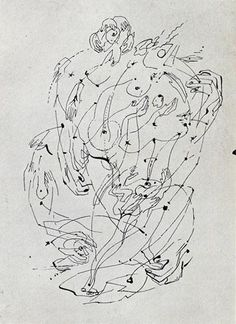Andre Masson Automatic Drawing 1925-1926 - Google Search