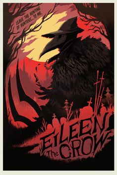 """Poster of Eileen the crow from Bloodborne Few hunters can resist the intoxication of the hunt."""" Gallery quality, Giclée fine art print in a matte finish created with Cotton paper and archival inks Bloodborne Art, Eileen The Crow, Dark Souls Art, Dark Fantasy, Crow, Art, Dark Art, Soul Art, Video Game Posters"""
