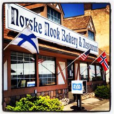 Amazing pie in a tiny town-  The Norske Nook. Osseo, WI