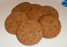 Cut the Wheat, Ditch the Sugar: Gluten Free, Low Carb Ginger Snaps