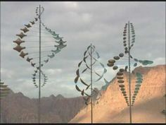 Lyman Whitaker: Wind Sculptures - he is a wonderful artist. Coyote Gulch Art Village, Ivins, UT