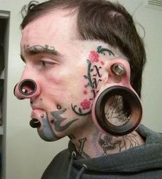 Extreme piercing pictures gallery