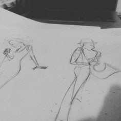 """Jazzzzzzz.. #illüstrasyon #illustration #girl #drawing #sketch #sketchbook #doodle #ciziyorum #boyuyorum #sketching #jazz #jazzillustration #jazzfest…"""