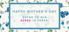 Mommytasking: Enter to win up to $3500 in prizes for Mother's Day!