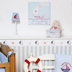 babyzimmer komplett gestalten - 25 kreative und bunte ideen ... - Kinderzimmer Maritim Streichen