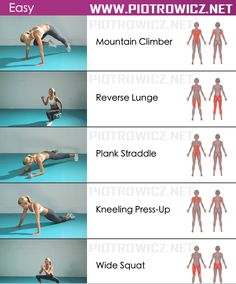 Easy Female Body Workout - Sixpack Exercises Healthy Fitness Gym - Yeah We Train…