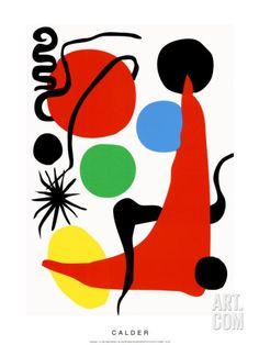 Art.fr - Sérigraphie 'Green Ball, c.1971' par Alexander Calder