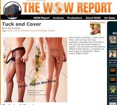 Homens ganham meia-calça com compartimento para o pênis  Produto pode ser encontrado na internet.  Peça é vendida no site eBay por US$ 13,5.  - Uma empresa criou uma meia-calça voltada para o público masculino. O produto traz um compartimento para o pênis. A meia-calça masculina pode ser encontrada no site eBay por US$ 13,5 (R$ 27,6), segundo publicaram alguns sites e blogs na internet.