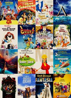Underrated Disney films! my favorite of these is The Emperor's New Groove! SO quotable! haha